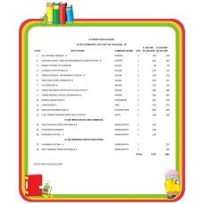 VI STD ST JOHN'S HIGH SCHOOL FULL SET 2018 - 19