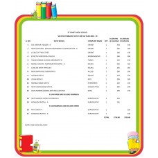 VIII STD ST JOHN'S HIGH SCHOOL FULL SET 2018 - 19